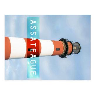 Assateague Light. Postcard