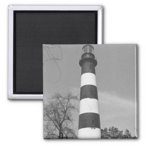 Assateague Lighthouse Refrigerator Magnet