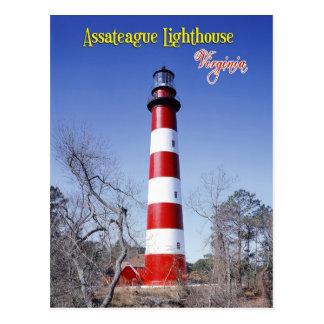 Assateague Lighthouse, Virginia Postcards