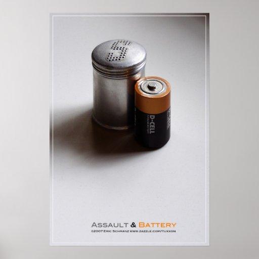 Assault & Battery Posters