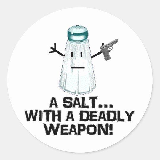 Assault! Classic Round Sticker