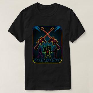 Assault Guitar Blacklight T-Shirt
