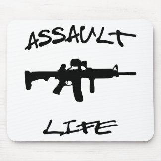 Assault Life Assault Weapon © WhiteTigerLLC.com Mouse Pad