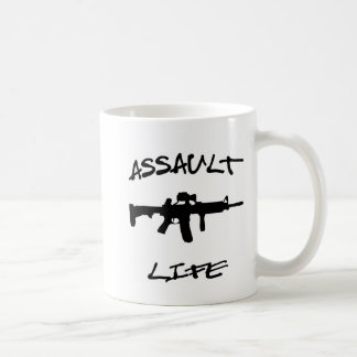 Assault Life Assault Weapon © WhiteTigerLLC.com Mugs