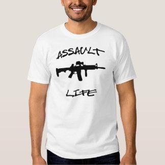 Assault Life Assault Weapon © WhiteTigerLLC.com Tshirt