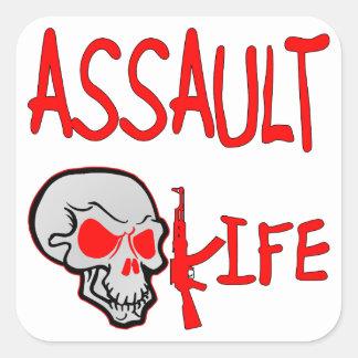 Assault Life Stickers