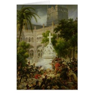 Assault on Monastery of San Engracio in Card