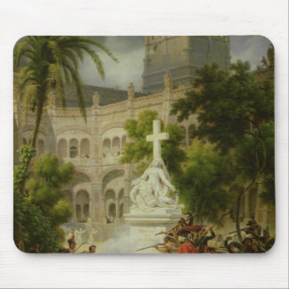 Assault on Monastery of San Engracio in Mouse Pad