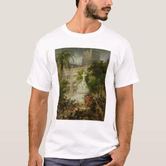 Assault on Monastery of San Engracio in T-Shirt