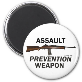 Assault Prevention Weapon Refrigerator Magnets