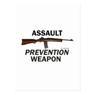 Assault Prevention Weapon! Postcard