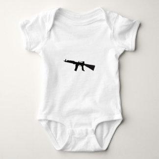 Assault Rifle Baby Bodysuit