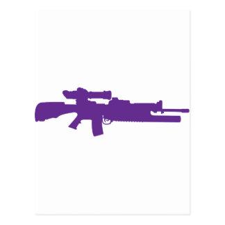 Assault Rifle Postcard