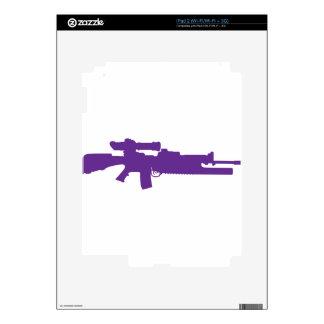 Assault Rifle iPad 2 Skins