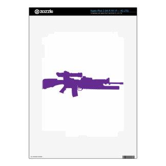 Assault Rifle iPad 3 Decals