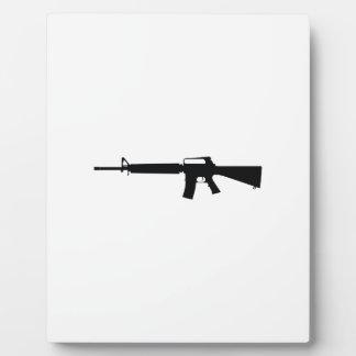 Assault Weapon Plaques