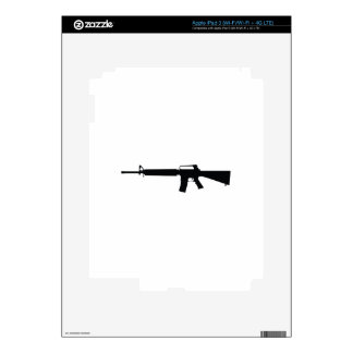 Assault Weapon Decal For iPad 3