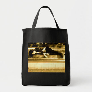 Assed Out Grocery Tote Bag