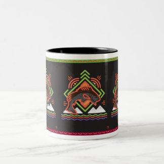 Assemblage 10 Two-Tone coffee mug
