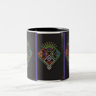 Assemblage 11 Two-Tone coffee mug