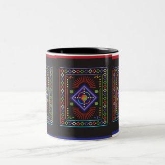 Assemblage 4 Two-Tone coffee mug