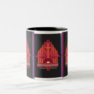 Assemblage 6 Two-Tone coffee mug