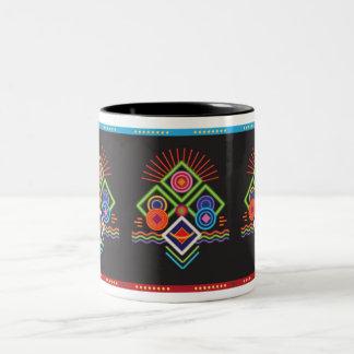 Assemblage 8 Two-Tone coffee mug