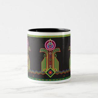 Assemblage 9 Two-Tone coffee mug