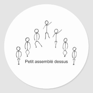 Assemble Classic Round Sticker