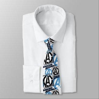 Assemble Pattern Neck Tie