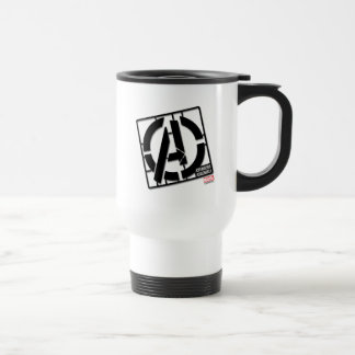 Assemble Pattern Travel Mug