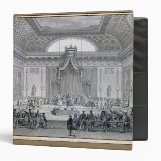 Assemblee des Notables Presided over by Louis 3 Ring Binders
