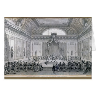 Assemblee des Notables Presided over by Louis Card