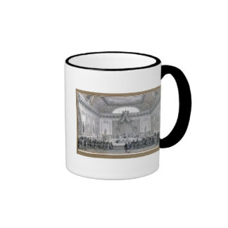 Assemblee des Notables Presided over by Louis Ringer Coffee Mug