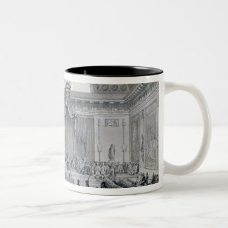 Assemblee des Notables Presided over by Louis Two-Tone Coffee Mug
