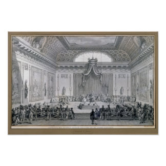 Assemblee des Notables Presided over by Louis Poster