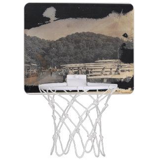 Assembling the Team Mini Basketball Hoops