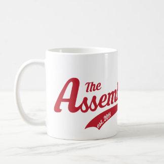 Assembly Call Text Logo Mug