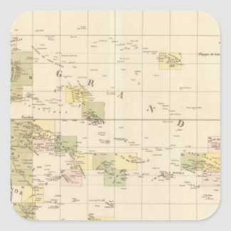 Assembly Map of Oceania Square Sticker