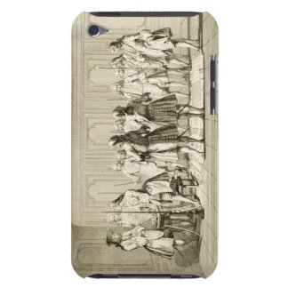 Assembly of Free Masons to Initiate an Apprentice, Case-Mate iPod Touch Case