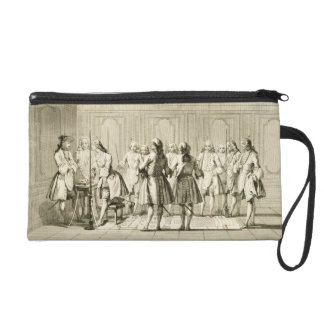 Assembly of Free Masons to Initiate an Apprentice, Wristlet