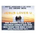 """assembly of god kotz 8.5"""" x 11"""" flyer"""