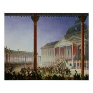 Assembly of the Champ de Mai, 1st June 1815 Poster