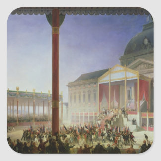 Assembly of the Champ de Mai, 1st June 1815 Square Sticker