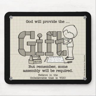 Assembly Required Mouse Pad