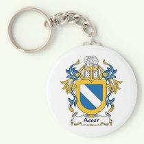 Asser Family Crest Keychain
