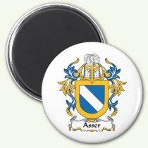 Asser Family Crest Magnet