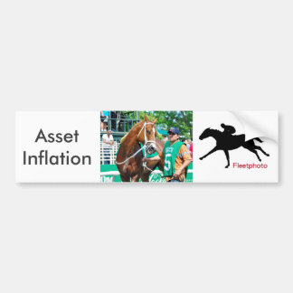 Asset Inflation Bumper Sticker