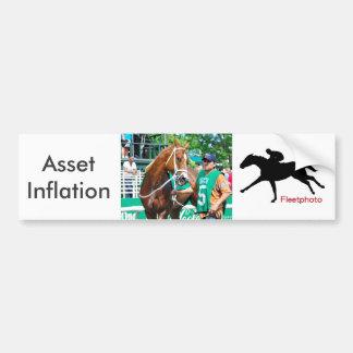 Asset Inflation Bumper Sticker