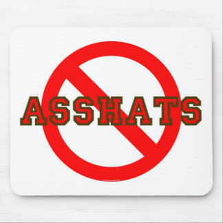 asshat mouse pad